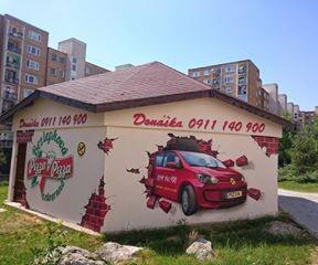 malba na stenu graffiti kosice umelecka malba dekoracna malba wallart  mural graffity  spreyovanie na stenu 13